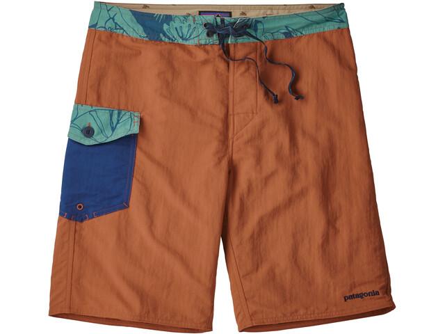 """Patagonia Patch Pocket Wavefarer Bathing Trunk Men 20"""" orange"""